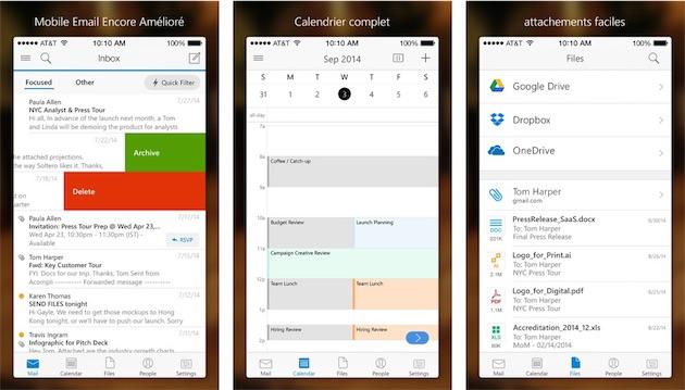 mail   les meilleures apps iphone et ipad