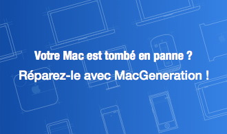 Votre Mac est tombé en panne ? Réparez-le avec MacGeneration !